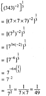 RBSE Solutions for Class 8 Maths Chapter 3 घात एवं घातांक Additional Questions L1