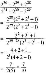 RBSE Solutions for Class 8 Maths Chapter 3 घात एवं घातांक Additional Questions L4A