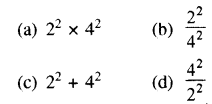 RBSE Solutions for Class 8 Maths Chapter 3 घात एवं घातांक Additional Questions Q5