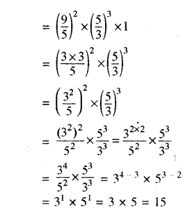 RBSE Solutions for Class 8 Maths Chapter 3 घात एवं घातांक Ex 3.2 Q1b
