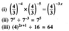 RBSE Solutions for Class 8 Maths Chapter 3 घात एवं घातांक Ex 3.2 Q3