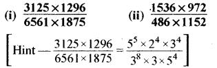 RBSE Solutions for Class 8 Maths Chapter 3 घात एवं घातांक Ex 3.2 Q4