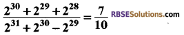 RBSE Solutions for Class 8 Maths Chapter 3 Powers and Exponents Additional Questions 10