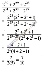 RBSE Solutions for Class 8 Maths Chapter 3 Powers and Exponents Additional Questions 11