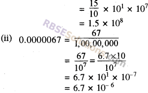 RBSE Solutions for Class 8 Maths Chapter 3 Powers and Exponents Additional Questions 18