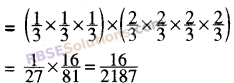 RBSE Solutions for Class 8 Maths Chapter 3 Powers and Exponents Additional Questions 3