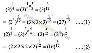RBSE Solutions for Class 8 Maths Chapter 3 Powers and Exponents Additional Questions 8