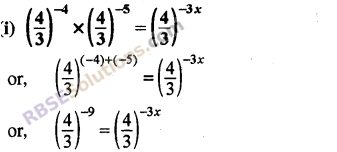 RBSE Solutions for Class 8 Maths Chapter 3 Powers and Exponents Ex 3.2 11