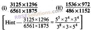 RBSE Solutions for Class 8 Maths Chapter 3 Powers and Exponents Ex 3.2 12