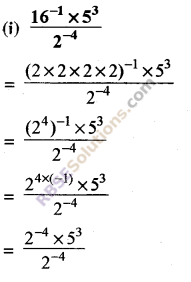 RBSE Solutions for Class 8 Maths Chapter 3 Powers and Exponents Ex 3.2 5