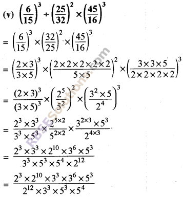 RBSE Solutions for Class 8 Maths Chapter 3 Powers and Exponents Ex 3.2 9