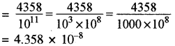 RBSE Solutions for Class 8 Maths Chapter 3 Powers and Exponents Ex 3.3 2
