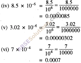 RBSE Solutions for Class 8 Maths Chapter 3 Powers and Exponents Ex 3.3 3