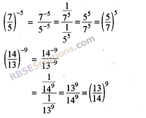 RBSE Solutions for Class 8 Maths Chapter 3 Powers and Exponents In Text Exercise 3
