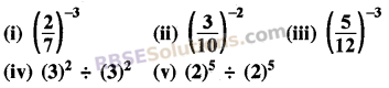 RBSE Solutions for Class 8 Maths Chapter 3 Powers and Exponents In Text Exercise 5