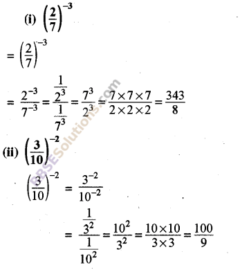 RBSE Solutions for Class 8 Maths Chapter 3 Powers and Exponents In Text Exercise 6