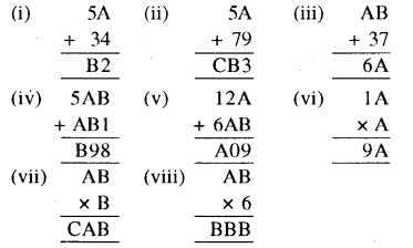 RBSE Solutions for Class 8 Maths Chapter 4 दिमागी कसरत Ex 4.2 Q1