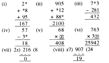 RBSE Solutions for Class 8 Maths Chapter 4 दिमागी कसरत Ex 4.2 Q2