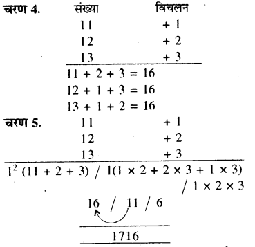 RBSE Solutions for Class 8 Maths Chapter 5 वैदिक गणित In Text Exercise 63a
