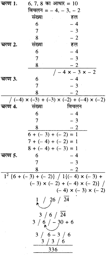 RBSE Solutions for Class 8 Maths Chapter 5 वैदिक गणित In Text Exercise 63d