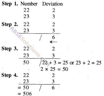 RBSE Solutions for Class 8 Maths Chapter 5 Vedic Mathematics Additional Questions img-5