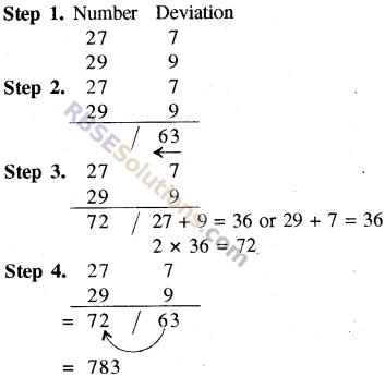 RBSE Solutions for Class 8 Maths Chapter 5 Vedic MathematicsEx 5.1 img-14