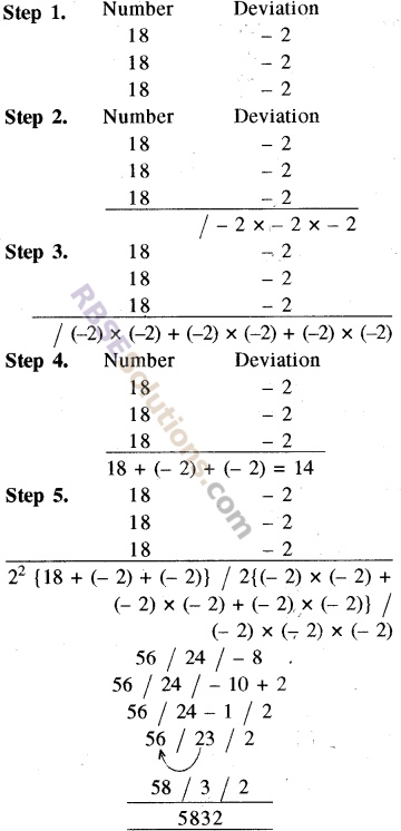 RBSE Solutions for Class 8 Maths Chapter 5 Vedic MathematicsEx 5.1 img-20