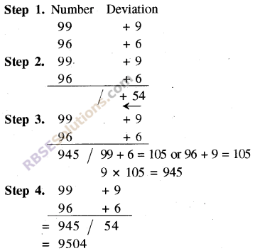 RBSE Solutions for Class 8 Maths Chapter 5 Vedic Mathematics In Text Exercise 25