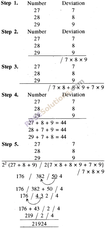 RBSE Solutions for Class 8 Maths Chapter 5 Vedic Mathematics In Text Exercise 29
