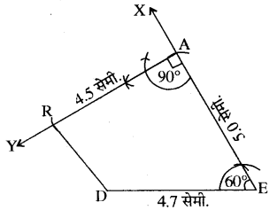 RBSE Solutions for Class 8 Maths Chapter 7 चतुर्भुज की रचना Ex 7.4 Q4a