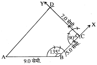 RBSE Solutions for Class 8 Maths Chapter 7 चतुर्भुज की रचना Ex 7.4 Q5A