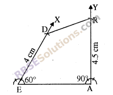 RBSE Solutions for Class 8 Maths Chapter 7 Construction of Quadrilaterals Additional Questions img-5
