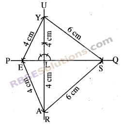 RBSE Solutions for Class 8 Maths Chapter 7 Construction of Quadrilaterals Additional Questions img-7