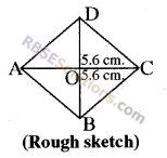 RBSE Solutions for Class 8 Maths Chapter 7 Construction of Quadrilaterals Additional Questions img-8