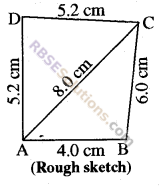 RBSE Solutions for Class 8 Maths Chapter 7 Construction of Quadrilaterals Ex 7.1 img-1