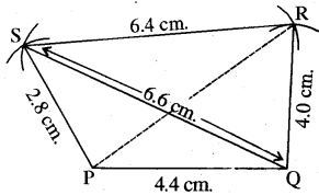 RBSE Solutions for Class 8 Maths Chapter 7 Construction of Quadrilaterals Ex 7.1 img-10