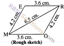 RBSE Solutions for Class 8 Maths Chapter 7 Construction of Quadrilaterals Ex 7.1 img-5