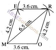 RBSE Solutions for Class 8 Maths Chapter 7 Construction of Quadrilaterals Ex 7.1 img-6