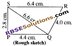 RBSE Solutions for Class 8 Maths Chapter 7 Construction of Quadrilaterals Ex 7.1 img-9