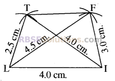 RBSE Solutions for Class 8 Maths Chapter 7 Construction of Quadrilaterals Ex 7.2 img-2