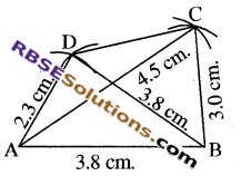 RBSE Solutions for Class 8 Maths Chapter 7 Construction of Quadrilaterals Ex 7.2 img-4