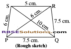 RBSE Solutions for Class 8 Maths Chapter 7 Construction of Quadrilaterals Ex 7.2 img-5