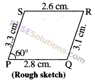 RBSE Solutions for Class 8 Maths Chapter 7 Construction of Quadrilaterals Ex 7.3 img-3
