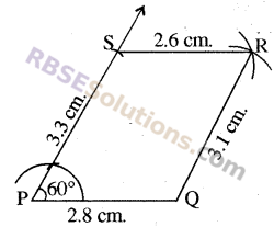 RBSE Solutions for Class 8 Maths Chapter 7 Construction of Quadrilaterals Ex 7.3 img-4
