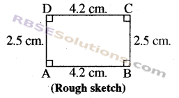 RBSE Solutions for Class 8 Maths Chapter 7 Construction of Quadrilaterals Ex 7.3 img-5