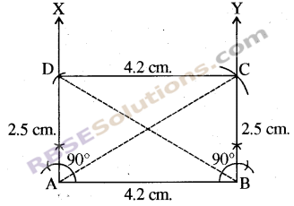 RBSE Solutions for Class 8 Maths Chapter 7 Construction of Quadrilaterals Ex 7.3 img-6