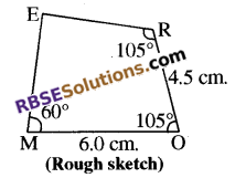 RBSE Solutions for Class 8 Maths Chapter 7 Construction of Quadrilaterals Ex 7.5 img-1