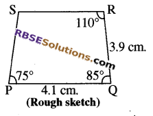 RBSE Solutions for Class 8 Maths Chapter 7 Construction of Quadrilaterals Ex 7.5 img-5