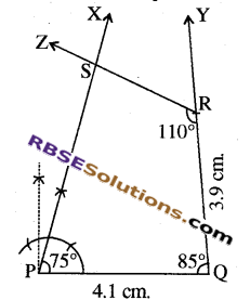 RBSE Solutions for Class 8 Maths Chapter 7 Construction of Quadrilaterals Ex 7.5 img-6