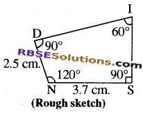 RBSE Solutions for Class 8 Maths Chapter 7 Construction of Quadrilaterals Ex 7.5 img-7